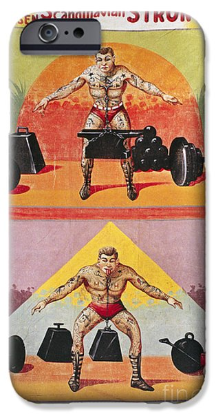 1940s iPhone Cases - SIDESHOW POSTER, c1945 iPhone Case by Granger