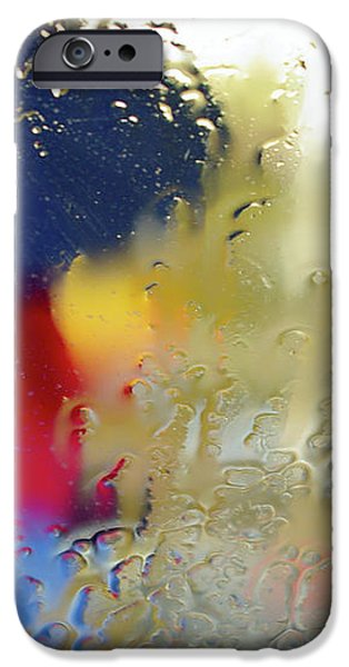 Silhouette in the Rain iPhone Case by Carlos Caetano