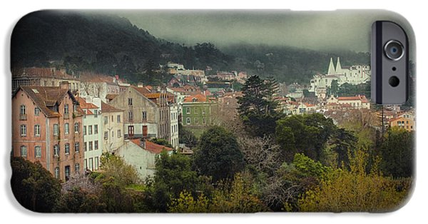 Portuguese iPhone Cases - Sintra Landscape iPhone Case by Carlos Caetano