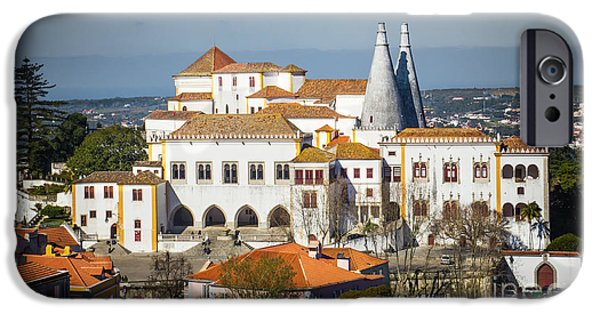 Portuguese iPhone Cases - Sintra National Palace iPhone Case by Carlos Caetano