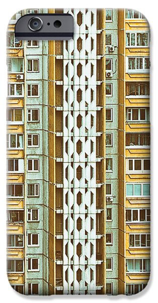 House iPhone Cases - Skyscraper iPhone Case by Stylianos Kleanthous