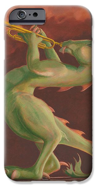 Leonard Filgate iPhone Cases - Smokin iPhone Case by Leonard Filgate