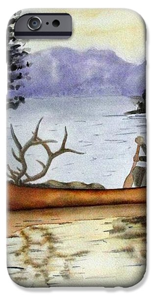 Solitude iPhone Case by JIMMY SMITH