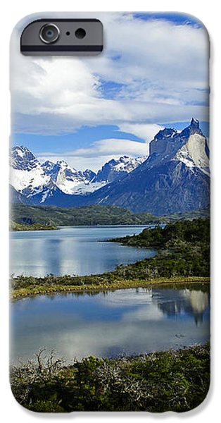 Springtime in Patagonia iPhone Case by Michele Burgess