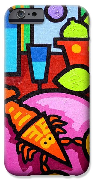 Wine Canvas Paintings iPhone Cases - Still Life At Window  iPhone Case by John  Nolan
