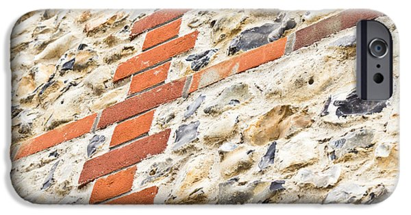 Industry iPhone Cases - Stone and brick wall iPhone Case by Tom Gowanlock