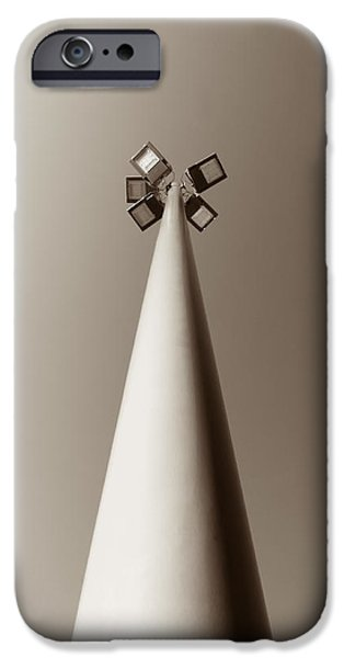 Streetlight Photographs iPhone Cases - Street Light iPhone Case by Wim Lanclus