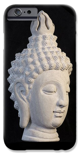 Stainless Steel iPhone Cases - Sukhothai R iPhone Case by Terrell Kaucher