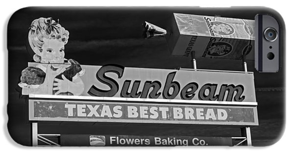 Loaf Of Bread iPhone Cases - Sunbeam - Texas Best Bread iPhone Case by Mountain Dreams
