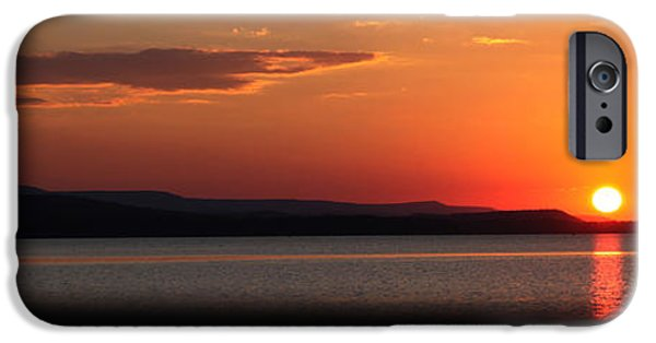 Arkansas iPhone Cases - Sunday Sunset iPhone Case by Darrell Storts
