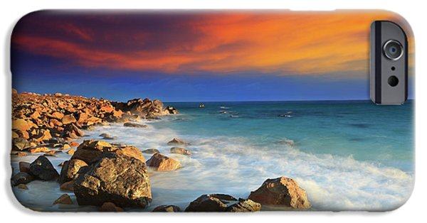 Con iPhone Cases - Sunrise iPhone Case by MotHaiBaPhoto Prints