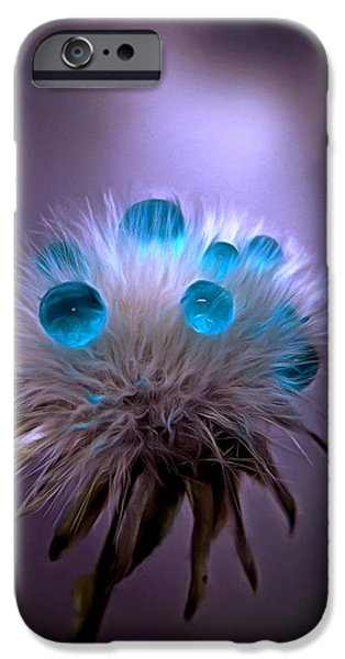 Floral Photographs iPhone Cases - Surviving The Storm iPhone Case by Krissy Katsimbras