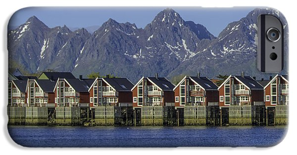 Norway iPhone Cases - Svolvaer Norway iPhone Case by Alan Toepfer