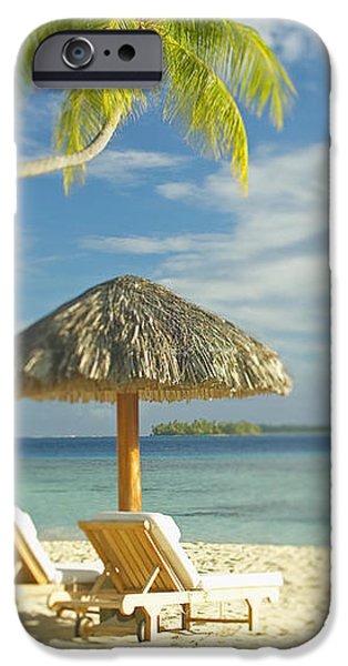 Tahiti, Bora Bora iPhone Case by Kyle Rothenborg - Printscapes