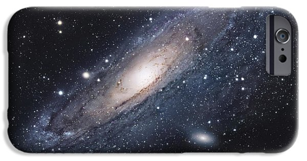 Stars iPhone Cases - The Andromeda Galaxy iPhone Case by Robert Gendler