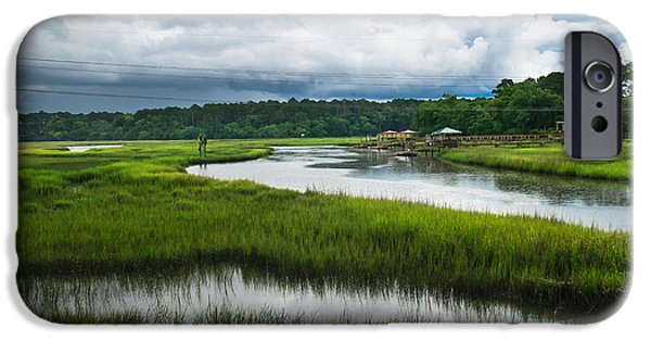 Tidal Creek iPhone Cases - The Coming Storm iPhone Case by Scott Hansen
