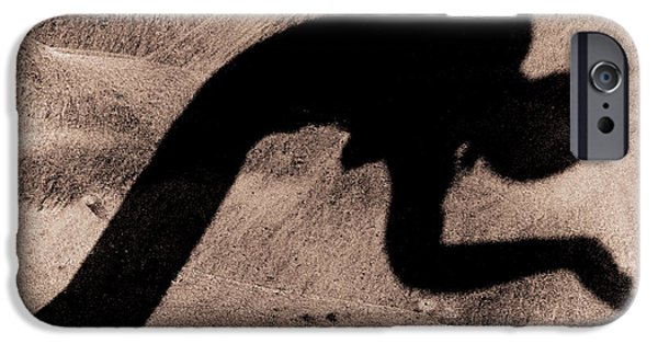 Erotic Dancer iPhone Cases - The dancer iPhone Case by Michael Mogensen