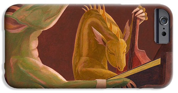 Leonard Filgate iPhone Cases - The Duo iPhone Case by Leonard Filgate