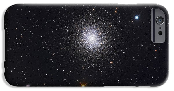 Stellar iPhone Cases - The Great Globular Cluster In Hercules iPhone Case by Roth Ritter