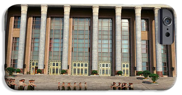 Liberation iPhone Cases - The Great Hall Of The People iPhone Case by Panoramic Images
