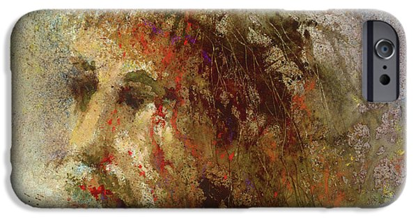 Religious Paintings iPhone Cases - The Lamb iPhone Case by Andrew King