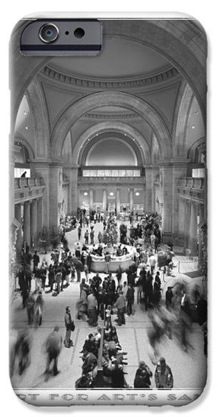 Metropolitan iPhone Cases - The Metropolitan Museum of Art iPhone Case by Mike McGlothlen