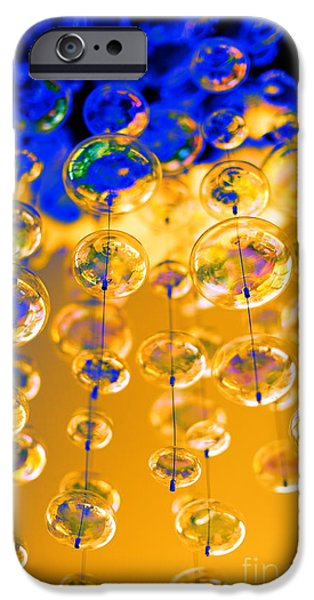 Floral Digital Art Digital Art iPhone Cases - The Millennium iPhone Case by PlusO FineArt