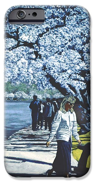 D.c. iPhone Cases - The Passage of Time iPhone Case by David Zimmerman