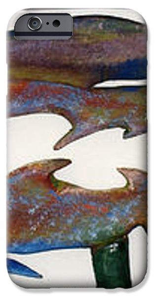 THE PROZAK FISH iPhone Case by Robert Margetts
