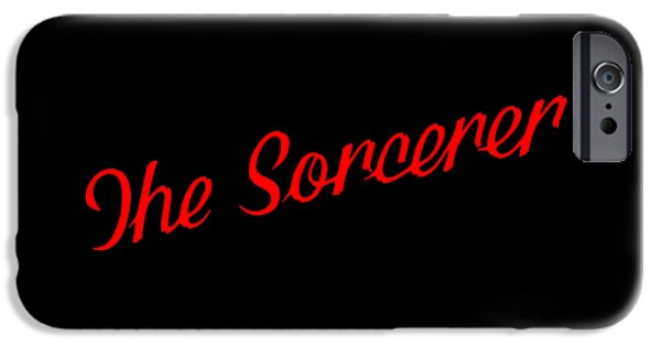 Ww1 iPhone Cases - The Scorcerer Nameplate iPhone Case by Elaine MacKenzie