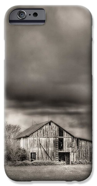 Rainy Day iPhone Cases - The Smell of Rain iPhone Case by JC Findley
