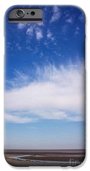 Wadden Sea iPhone Cases - the Wadden Sea iPhone Case by Angela Doelling AD DESIGN Photo and PhotoArt