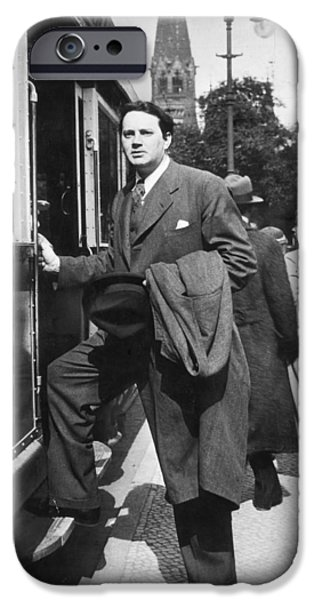 THOMAS WOLFE (1900-1938) iPhone Case by Granger