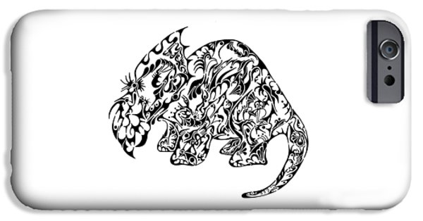 Serpent iPhone Cases - Try Sarah Tops iPhone Case by Thomas Coleman