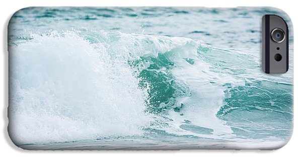 Splashy iPhone Cases - Turquoise Waters iPhone Case by Shelby  Young