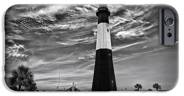 Tybee Island iPhone Cases - Tybee Island Lighthouse iPhone Case by A Different Brian Photography