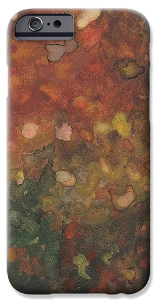 Watercolor iPhone Cases - Untitled iPhone Case by Melvin Nesbitt Jr