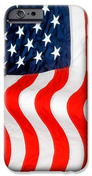 American Independance iPhone Cases - U.S. Flag iPhone Case by George Robinson