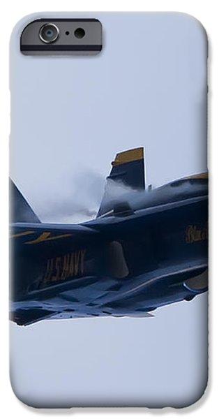 US Navy Blue Angels High Speed Turn iPhone Case by Dustin K Ryan