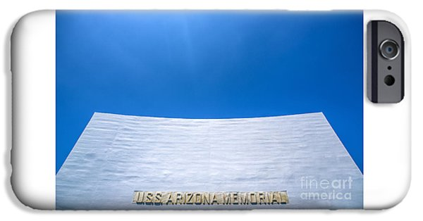 Historic Site iPhone Cases - USS Arizona Memorial iPhone Case by Diane Diederich