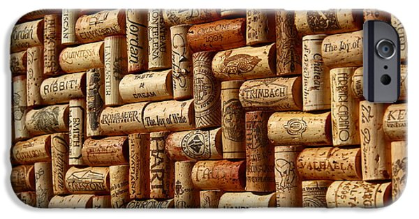 Vintage Wine Lovers Photographs iPhone Cases - Vibrant Wines iPhone Case by Anthony Jones