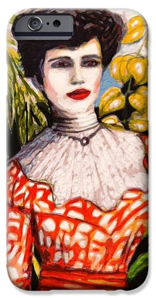 Nineteenth Digital iPhone Cases - Victorian style  iPhone Case by Larry Lamb
