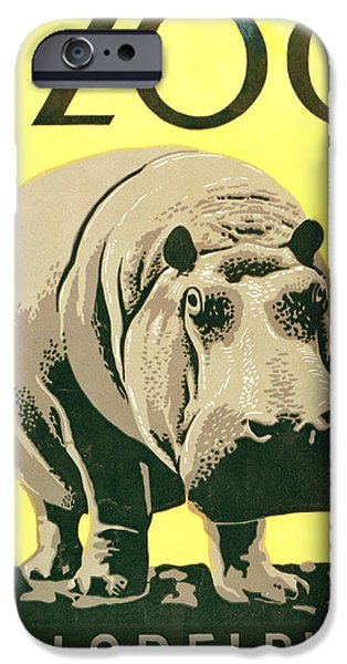 Unknown iPhone Cases - Visit The Zoo iPhone Case by Unknown