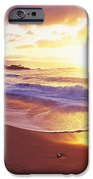 Waimea Bay Sunset iPhone Case by Bob Abraham - Printscapes