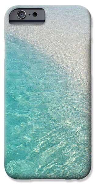 Water Meditation I. Five Elements. Healing with Feng Shui and Color Therapy in Interior Design iPhone Case by Jenny Rainbow