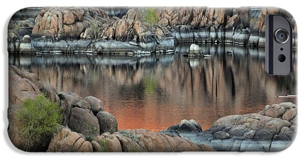 Prescott iPhone Cases - Watson Lake iPhone Case by David Kehrli
