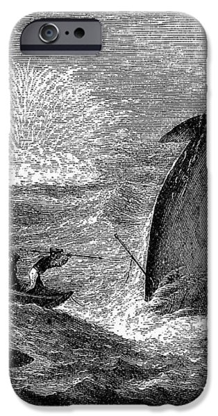 WHALING, 19th CENTURY iPhone Case by Granger