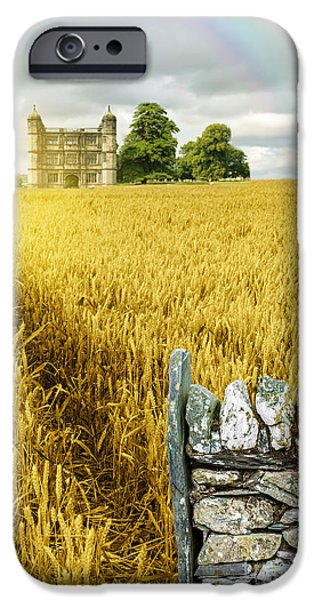 Mansion iPhone Cases - Wheat Field iPhone Case by Amanda And Christopher Elwell