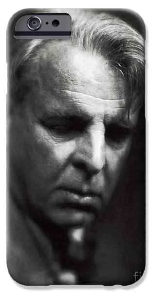 Personalities Photographs iPhone Cases - William Butler Yeats iPhone Case by Photo Researchers