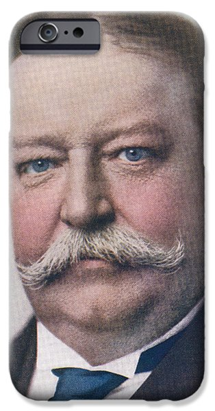 Taft iPhone Cases - William Howard Taft, 1857 To 1930. 27th iPhone Case by Ken Welsh